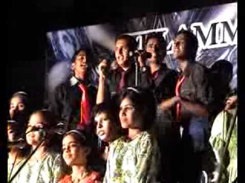 Vellammal Matric School Annual Day 2012 Tamil Antham Song by Jagatheeswar and team