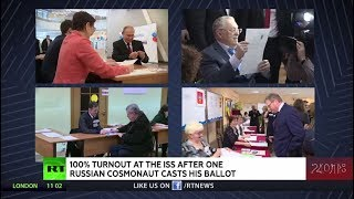 Russian presidential election: All of the candidates have already cast their votes - RUSSIATODAY