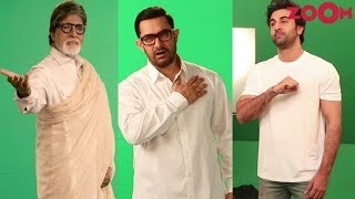 Amitabh Bachchan, Ranbir Kapoor & Aamir Khan's tribute to CRPF jawans from Pulwama attack - ZOOMDEKHO