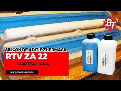 Realizare matrita flexibila din silicon RTV-ZA22 - Lumanare de botez - Partea 1 din 4