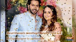 Happy Birthday Varun Dhawan: Adorable moments of Kalank actor with girlfriend Natasha Dalal - INDIATV