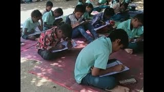 Tamil Nadu: Lack of space forces school teachers to make students sit in open - TIMESOFINDIACHANNEL