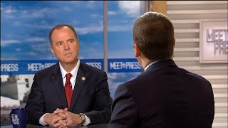Full Schiff: 'Facts for recusal are very strong here' for acting Attorney General | Meet The Press - NBCNEWS