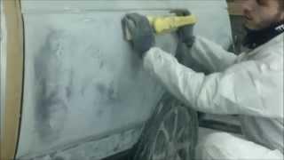 покраска авто в гараже выводим форму