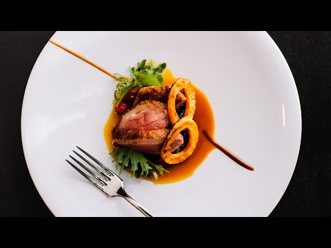 Tasting Counter: Roasted Duck with Butternut Squash and Kale