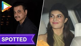 Jacqueline Fernandez and Sanjay Kapoor Spotted at Soho House - HUNGAMA