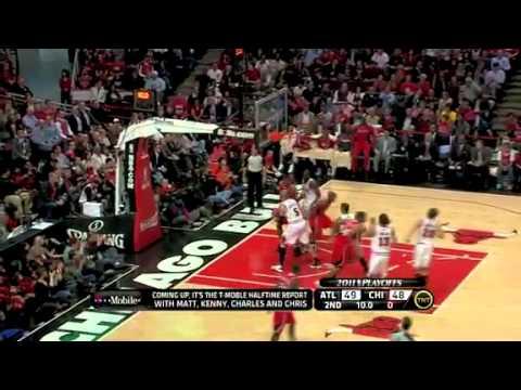 NBA Playoffs 2011: Atlanta Hawks Vs Chicago Bulls Game 1 Highlights