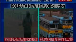 "Air quality in parts of Kolkata had dropped to the ""very poor"" level - NEWSXLIVE"