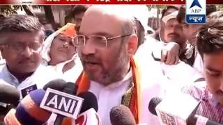 "Modi 'wave' will turn into 'storm'"": Amit Shah - ABPNEWSTV"