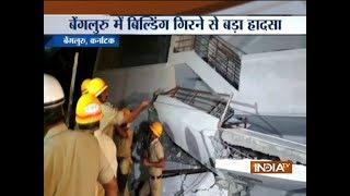 Bengaluru: Under-construction building collapses - INDIATV