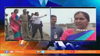 Dy Speaker padma Devender Inspects Kaleshwaram Project Works | iNews - INEWS