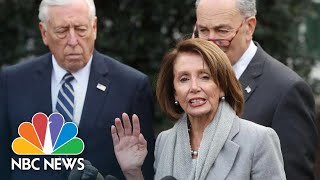 Nancy Pelosi, Steny Hoyer Defend President Donald Trump State Of The Union Delay | NBC News - NBCNEWS