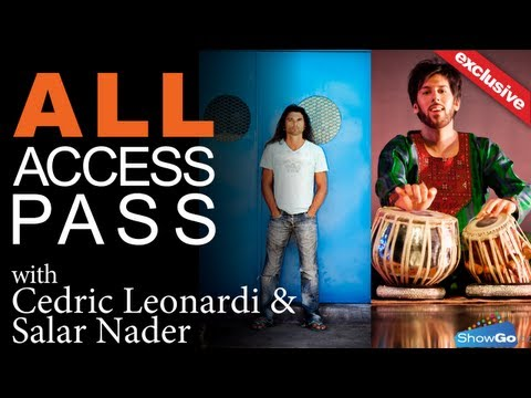 Interview with Cedric (former Gipsy Kings drummer) and Zakir Hussein protégé Salar
