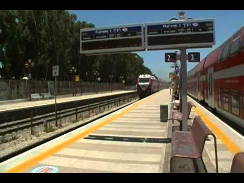 Double Decker Express Train In Israel