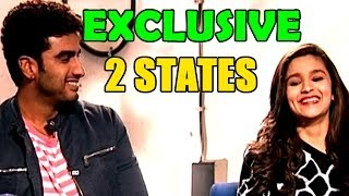 2 STATES : Alia Bhatt and Arjun Kapoor Interview Promo