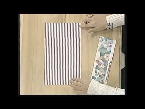 Puntos y Puntadas 477. Individual en tela panamá y cortina bandó.