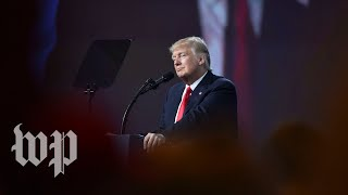 Trump addresses CPAC - WASHINGTONPOST