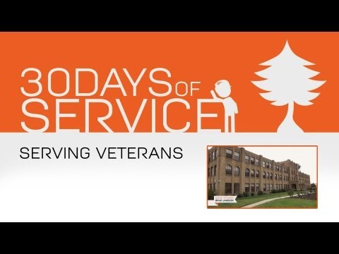 30 Days of Service by Brad Jamison: Day 23 - Serving Veterans