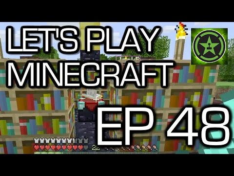 Let's Play Minecraft - Episode 48 - Enchantment Level 30 - Part II