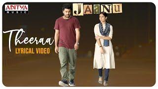Theeraa Lyrical Video (Tamil) | Jaanu | Chinmayi sripaada , Govind Vasantha | Karthik Netha - ADITYAMUSIC