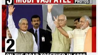 Atal Bihari Vajpayee and PM Modi's iconic photos - NEWSXLIVE