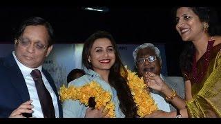 Mumbai University Felicitates Actress Rani Mukerji And Legendary Actor Prem Chopra - THECINECURRY