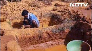 हीरे की चमक के पीछे किसान और मज़दूरों की ज़िंदगी काली, देखें- खास रिपोर्ट - NDTVINDIA