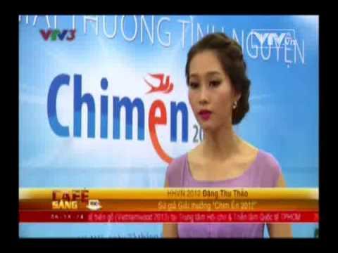 [Chim én 2013] VTV đưa tin về Tổng kết 5 năm và trao giải thưởng tình nguyện