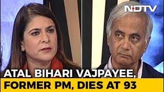 Sheshadri Chari On When Indira Gandhi Held An Umbrella Over Vajpayee's Head - NDTV
