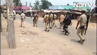 पश्चिम बंगाल के मालदा में वोटिंग के दौरान हिंसा की तस्वीरें - NDTVINDIA