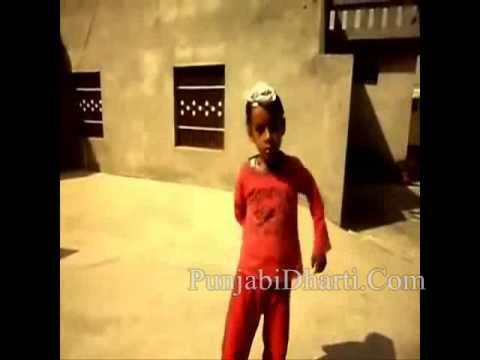 Kid Singing Yaar Anmulle.Via PunjabiDharti.Com