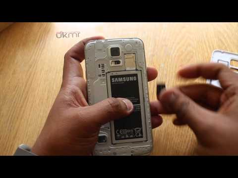 Samsung Galaxy S5 - How to Insert microSD card
