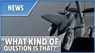 F-15 pilots kill time while refueling - THESUNNEWSPAPER