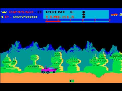 Moon Patrol - Classic Arcade