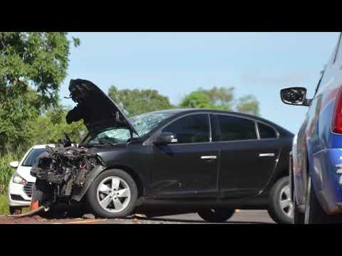 Identificadas vítimas de acidente entre carros na BR-262