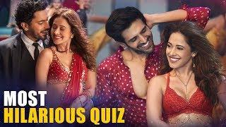 Kartik Aaryan | Nushrat Bharucha | Most HILARIOUS Quiz | Love Triangles | Sonu Ke Titu Ki Sweety - HUNGAMA