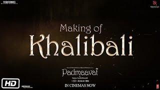 Khalibali Song Making Video | Padmaavat | Ranveer Singh | Deepika Padukone | Shahid Kapoor - TSERIES