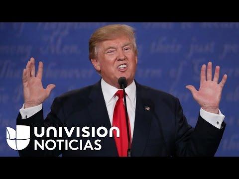 Trump dice que no se compromete a respetar los resultados de las elecciones