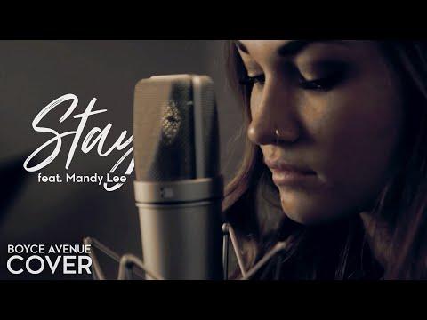 Stay - Rihanna ft. Mikky Ekko (Boyce Avenue ft. Mandy Lee of Miste