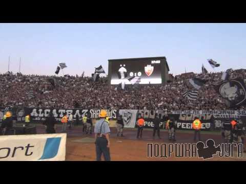 144. derbi - Grobari Jug navijanje
