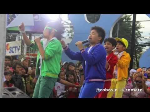 Coboy Junior Inbox 3 Maret 2012 - Behind The Stage