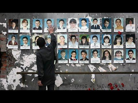 Supervivientes de la tragedia de Beslán recuerdan a las víctimas de la masacre
