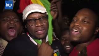 Celebration in Zimbabwe as Robert Mugabe resigns - WASHINGTONPOST