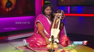 'Sarangi' Manonmani in World Music day special | Super Housefull | News7 Tamil Show