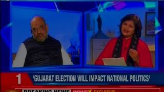 We are nor worried over Rahul Gandhi as Congress President: BJP Prez Amit Shah on NewsX - NEWSXLIVE