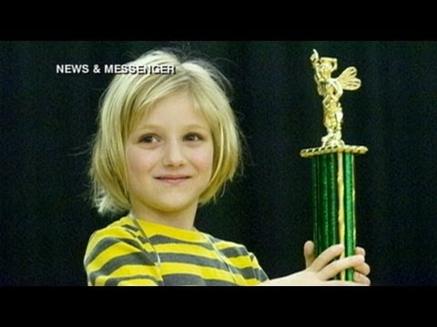 Scripps Spelling Bee Sees Youngest Competitor: Lori Anne Madison, 6, 'Definitely Not Scared'