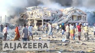 Severely wounded survivors of Somalia's deadliest blast flown to Turkey - ALJAZEERAENGLISH