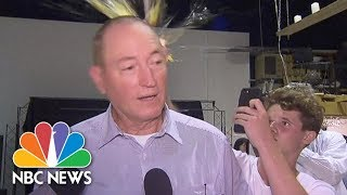 Watch The Moment An Egg Is Cracked On The Head Of Australian Senator | NBC News - NBCNEWS