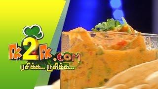 """K2K.com Rasikka Rusikka 31-08-2015 """"Chicken Kali Mirch & Reshmi Panneer"""" –  PuthuYugam TV Show"""