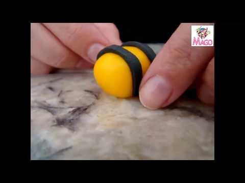 Modelagem:Abelha em pasta de leite ninho